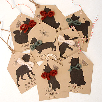 Make It Animal Lover Gift Tags Moomah The Magazine