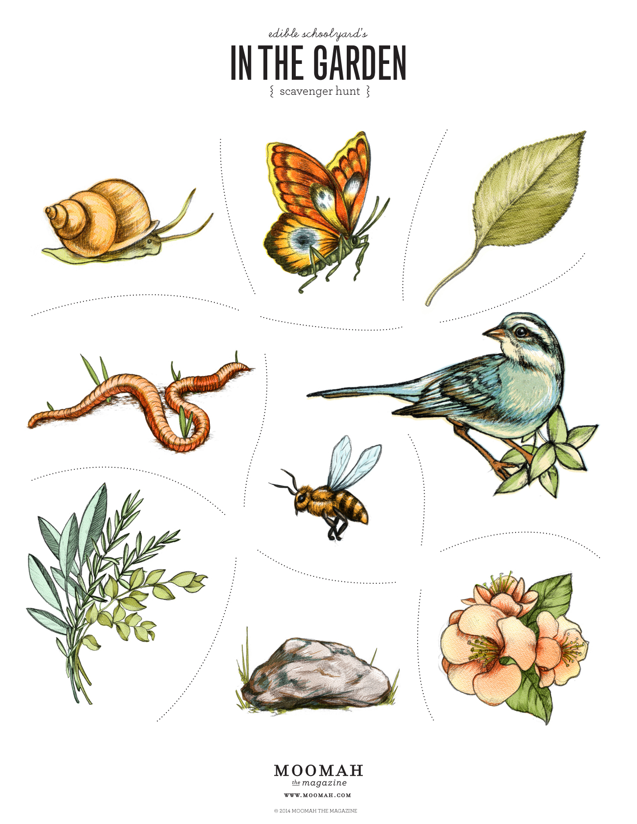 Make nice mission in the garden scavenger hunt moomah for 1000 designs for the garden and where to find them