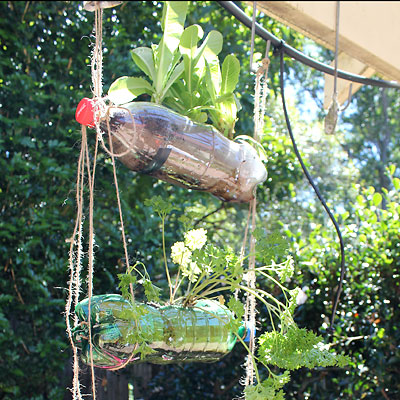 Reusing Our Plastic Vertical Hanging Garden Moomah The