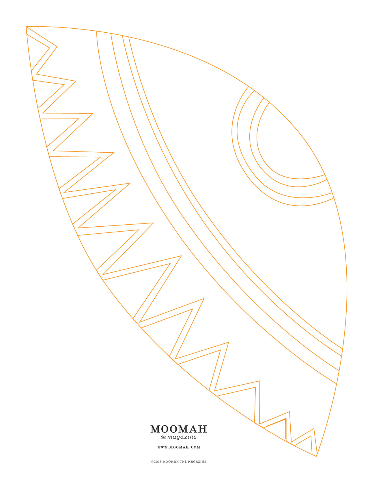 CLICK TO PRINT YOUR TEEPEE TEMPLATE