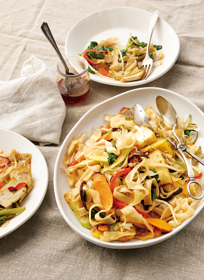 oh fun rice noodle stir fry moomah the magazine