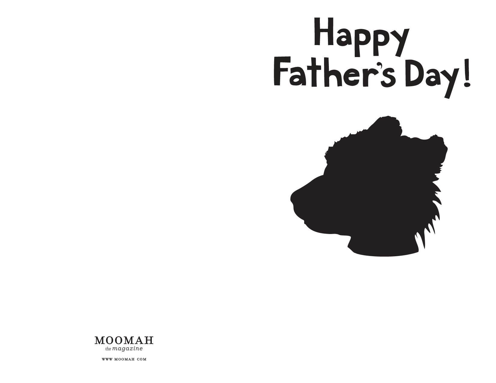 father s day card template