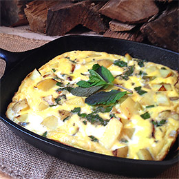 Potato Leek Frittata