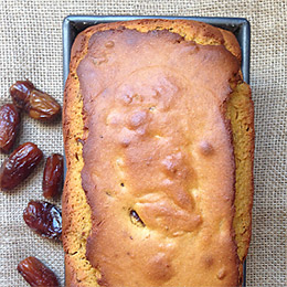Gluten-Free Pumpkin and Date Loaf