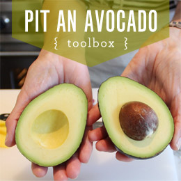 TOOLBOX: PIT AN AVOCADO