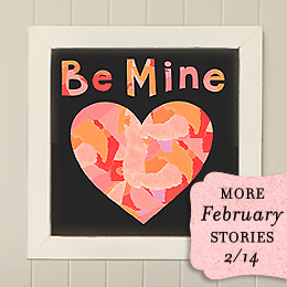 Be Mine Collage