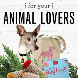 Gifts That Give Back: For Your Pets and Animal Lovers