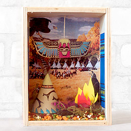 The First Thanksgiving Shadowbox