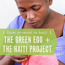 The Green Egg and The Haiti Project