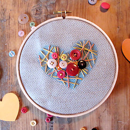 Heart Strung Embroidery