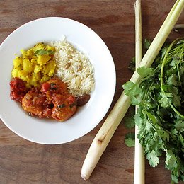 Aida The Skinny Chef's Gluten-Free Curry Meatballs