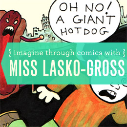 Draw Comics with Miss Lasko-Gross