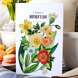 Make it! Blooming Mother's Day Card