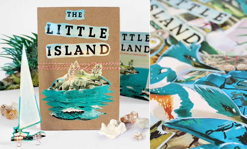 Make it! The Little Island Accordion Book