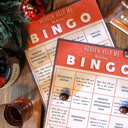 Heaven Help Me Holiday Bingo