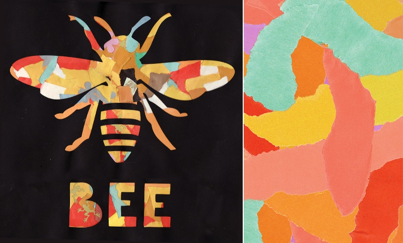 Honeybee Collage