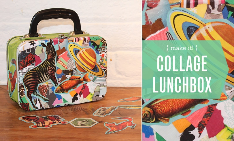 Make it! Collage Lunchbox