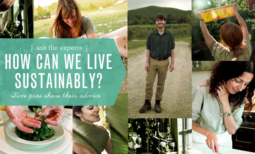 How can we live sustainable lives?