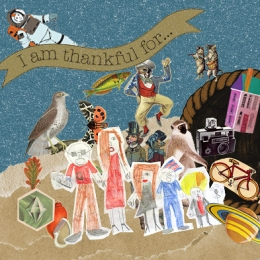 """I'm Thankful For"" Placemat"