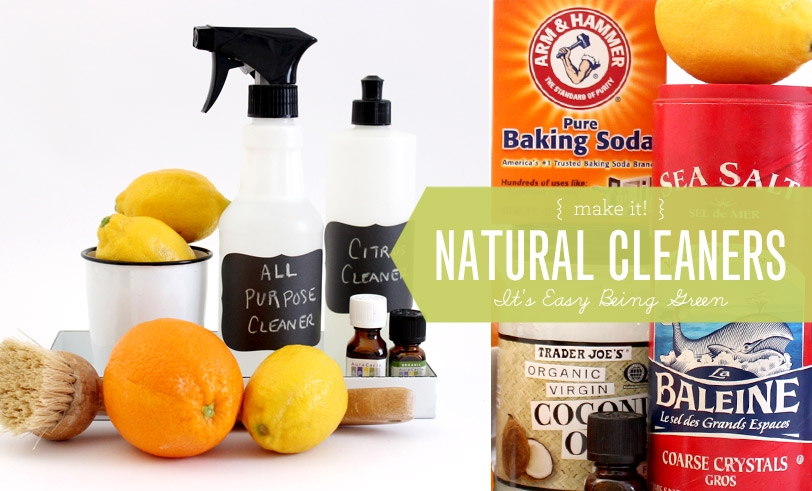 Healthy Child Healthy World: Natural Cleaners