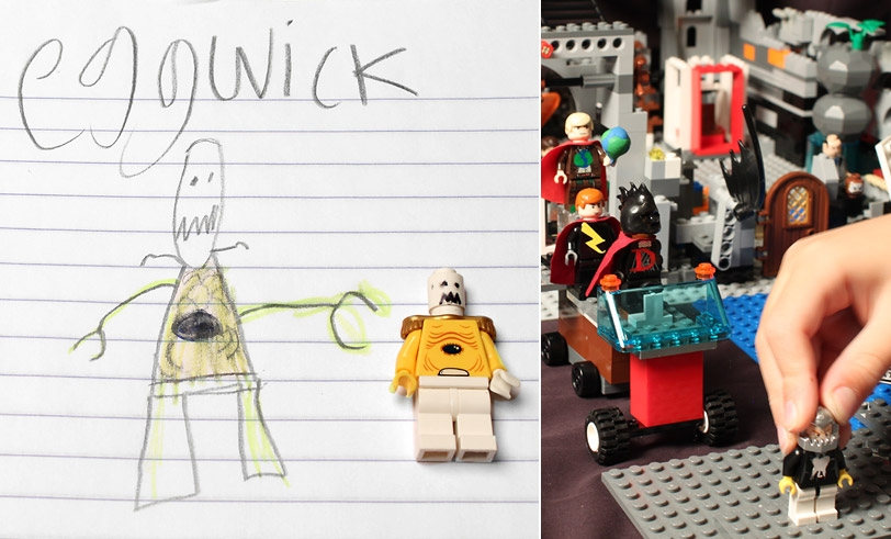 Make Your Own Lego Characters