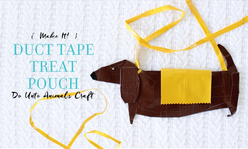 Make It! Duct Tape Treat Pouch