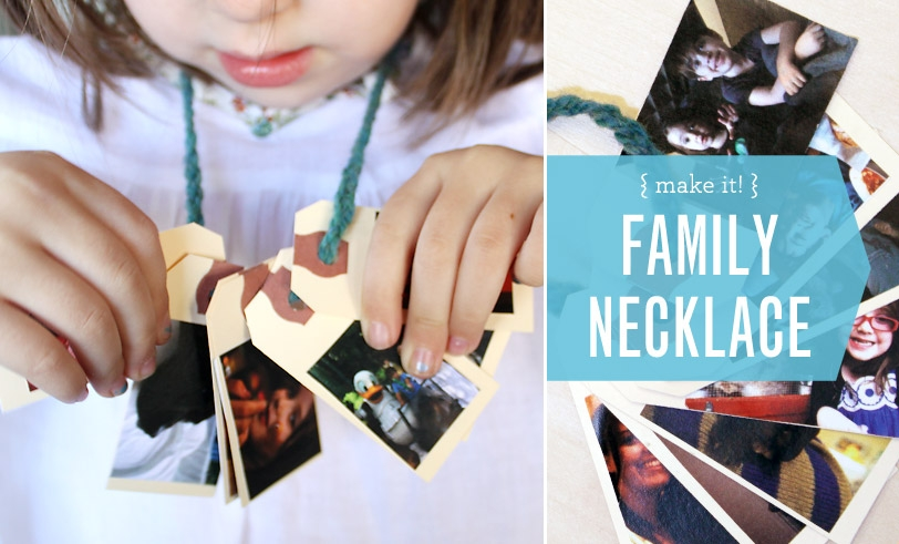 The Family Necklace Project