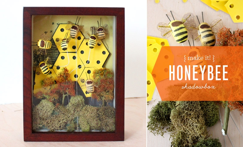 MAKE IT! Honeybee Shadowbox