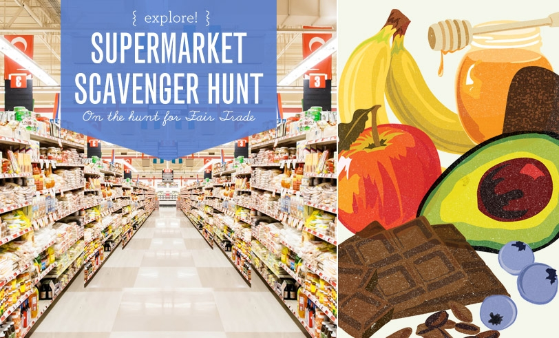 Make Nice Mission: Supermarket Scavenger Hunt