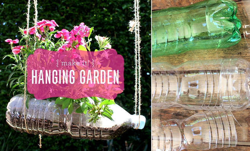 Reusing Our Plastic: Vertical Hanging Garden | Moomah the