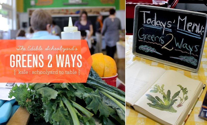 Make Nice Mission: Greens Two Ways