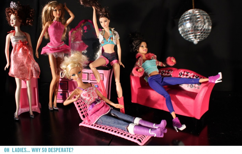 Barbie: From Desperate to Divine